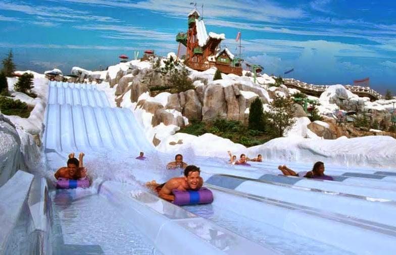 Parques Aquáticos em Orlando: Disney's Blizzard Beach