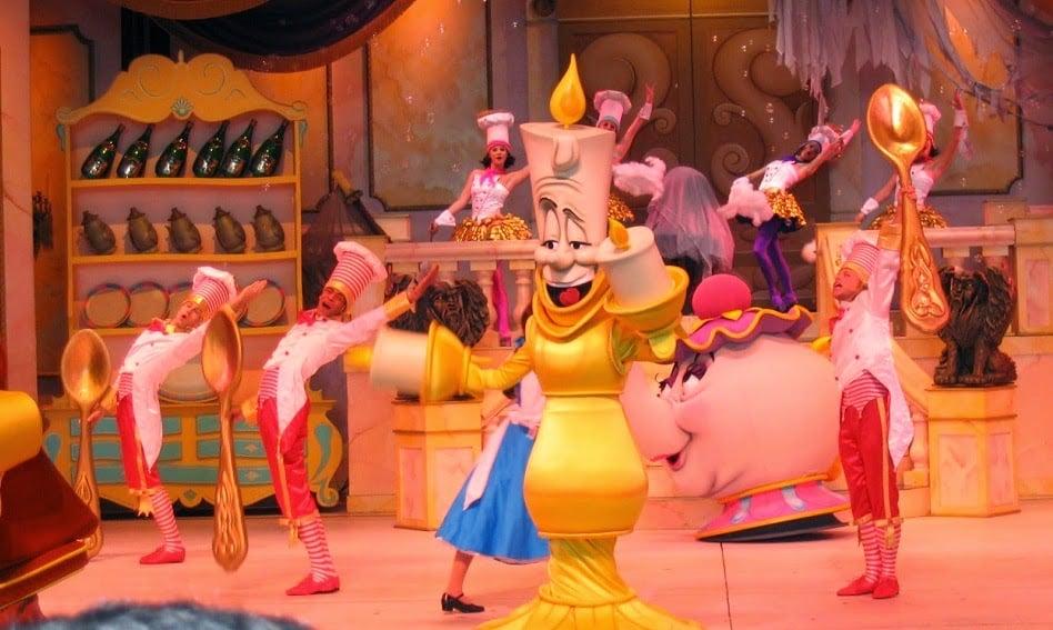 Parque Hollywood Studios da Disney Orlando: Musical da Bela e a Fera