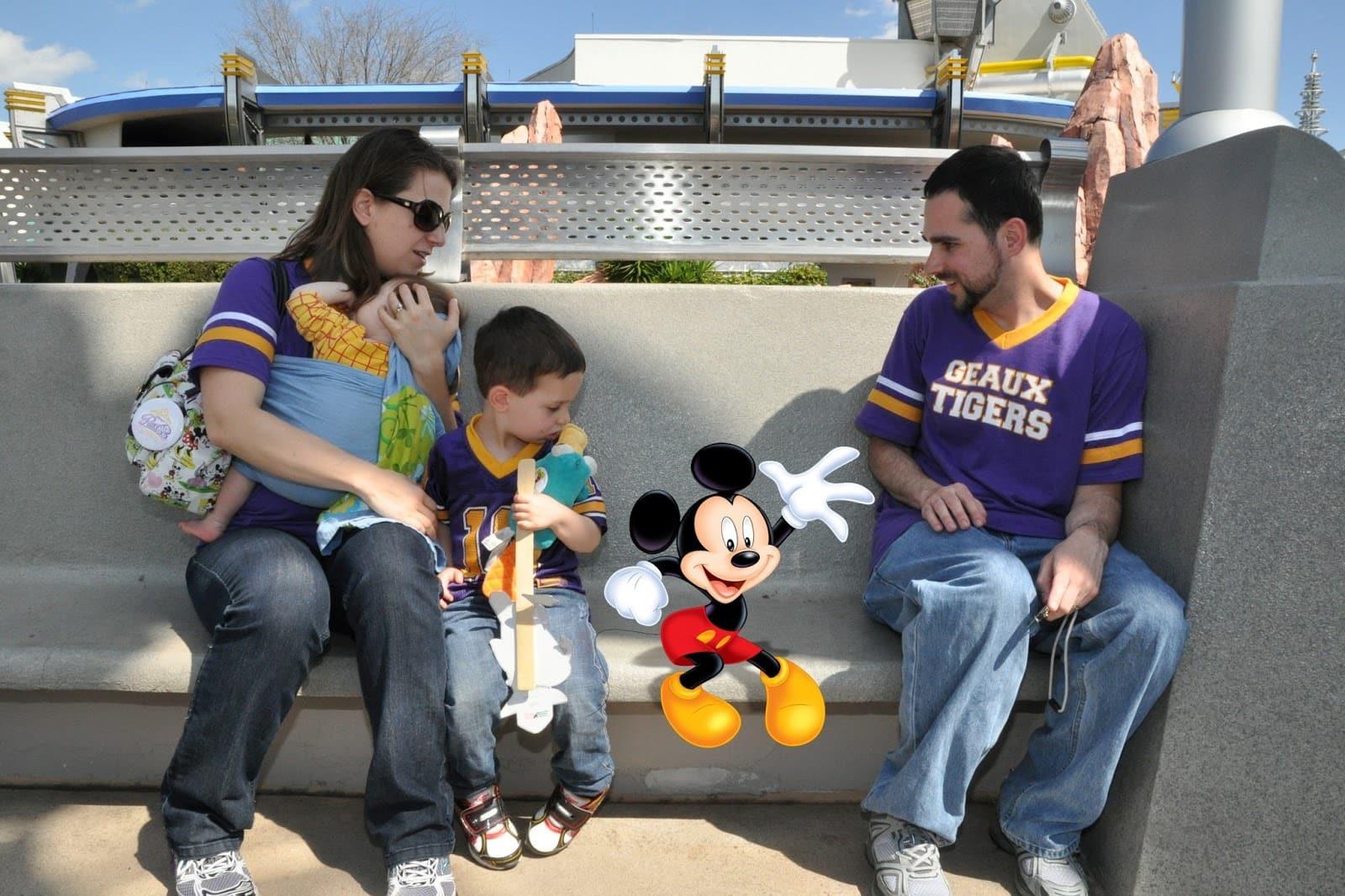 Fotos com o Memory Maker da Disney: foto no parque da Disney