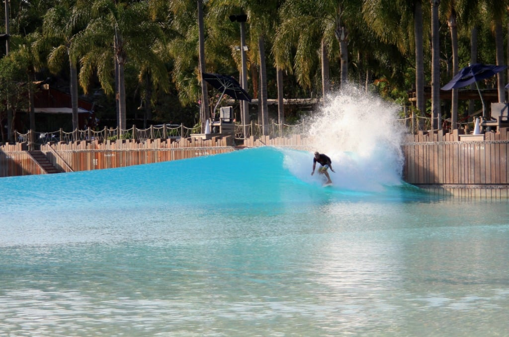Parque Typhoon Lagoon da Disney Orlando: Typhoon Lagoon Surf Pool