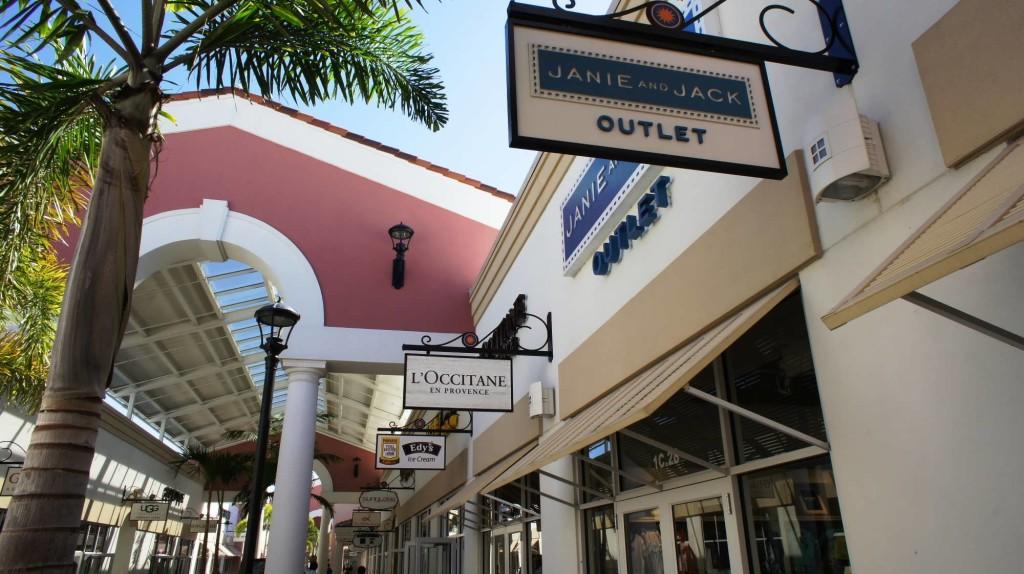 Loja no Premium Outlets International Drive em Orlando