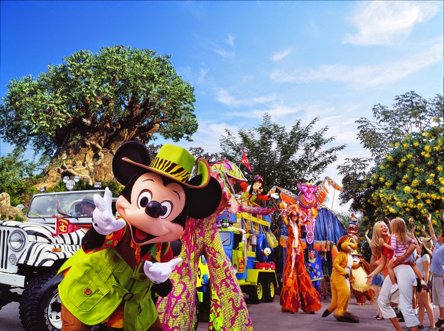 Orlando e Disney no mês de agosto: Parque Animal Kingdom