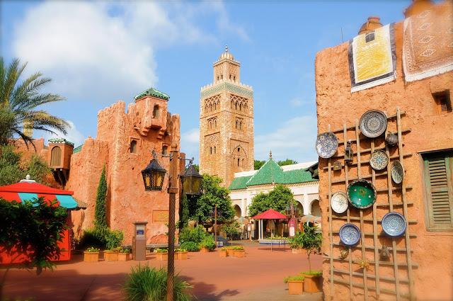 Parque Epcot da Disney Orlando: Pavilhão do Marrocos