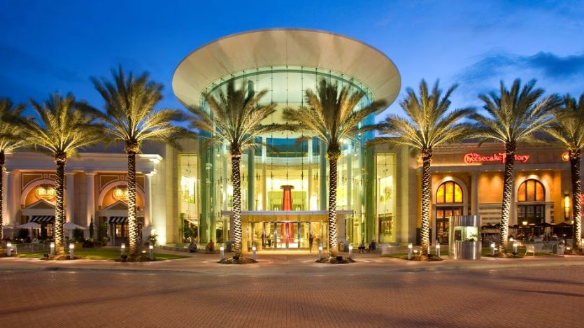 Shopping Mall at Millenia em Orlando