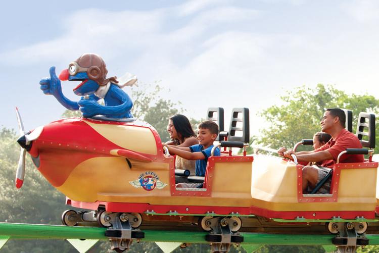 Parque Busch Gardens em Tampa: Air Grover