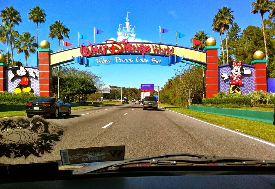 Entrada do Walt Disney World em Orlando