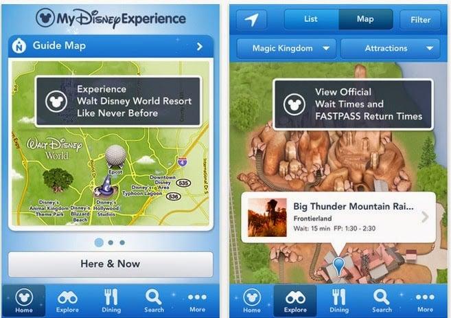 Aplicativo Disney Experience da Disney Orlando