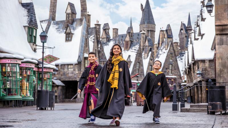 Área de Harry Potter na Universal Orlando