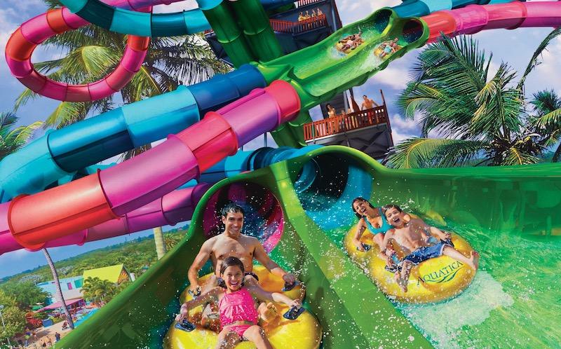 Parque Aquatica em Orlando: Riptide Race