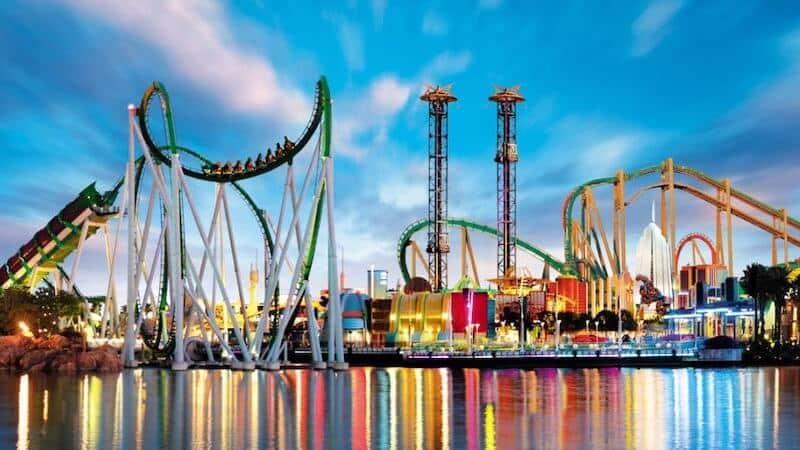 Atrações do Universal Orlando Resort