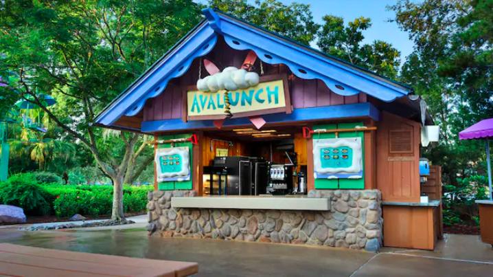 Parque Blizzard Beach da Disney Orlando: Avalunch