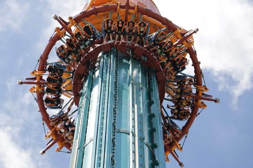 Parque Busch Gardens em Tampa: Falcon's Fury