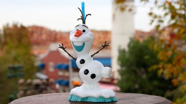 Sobremesas do Frozen na Disney Orlando: copo do Olaf - Olaf Premium Slipper