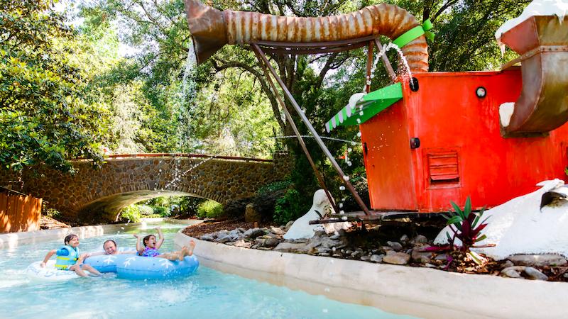 Parque Blizzard Beach da Disney Orlando: Cross Country Creek
