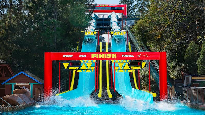 Parque Blizzard Beach da Disney Orlando: Downhill Double Dipper