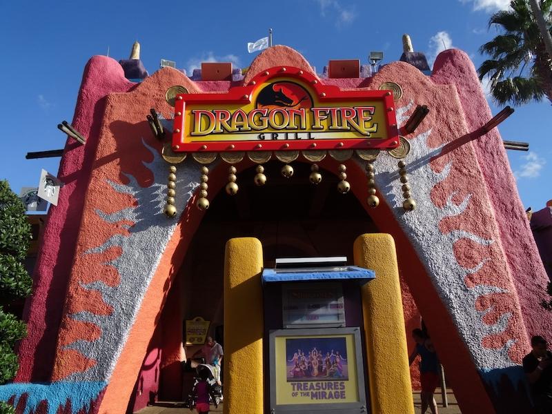 Parque Busch Gardens em Tampa: Dragon Fire Grill & Pub