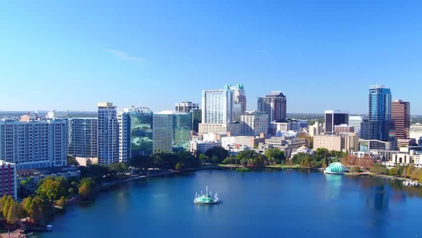 Lake Eola em Orlando