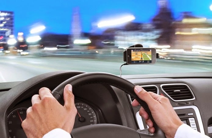Celular como GPS em Orlando