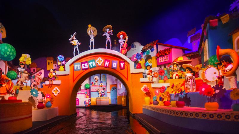 Parque Epcot da Disney Orlando: Gran Fiesta Tour Starring The Three Caballeros