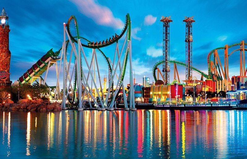 Reabertura dos parques da Universal em Orlando: Islands of Adventure