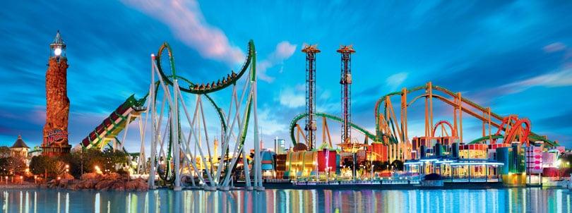 Parque Island of Adventure em Orlando