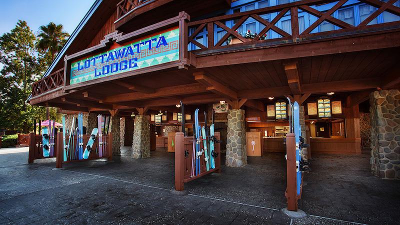 Parque Blizzard Beach da Disney Orlando: Lottawatta Lodge