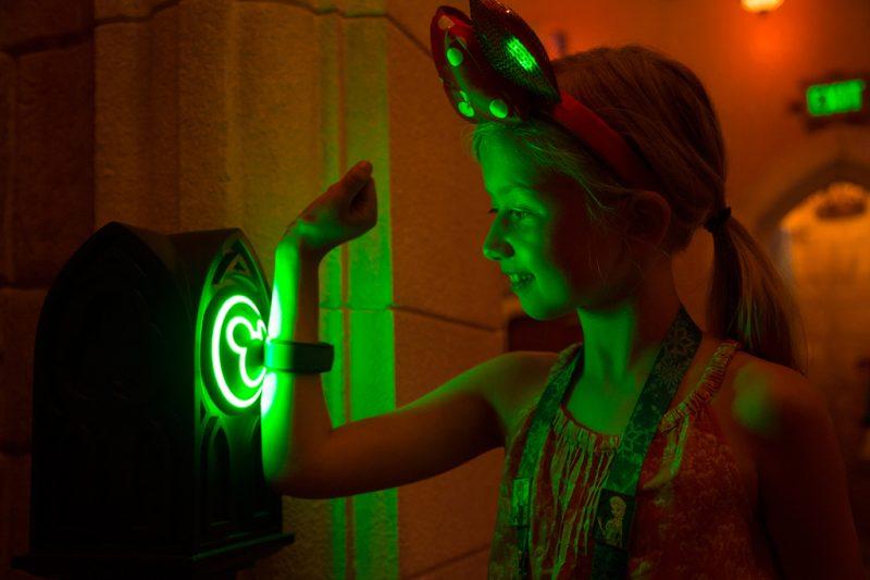 Utilizando a pulseira MagicBand na Disney Orlando
