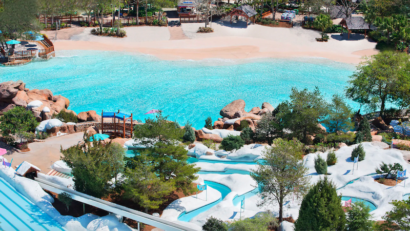 Melt-Away Bay no parque Blizzard Beach da Disney Orlando