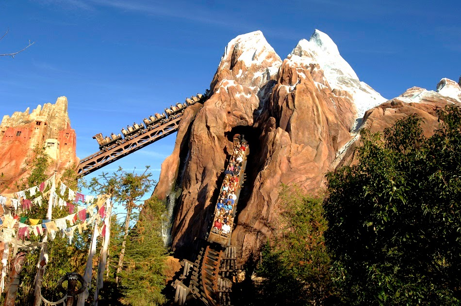 Parque Animal Kingdom da Disney Orlando: Expedition Everest – Legend of the Forbidden Mountain