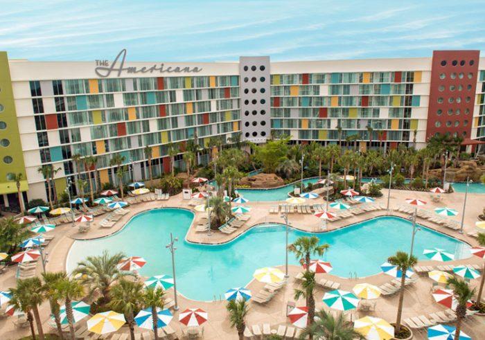 Hotel da Universal em Orlando