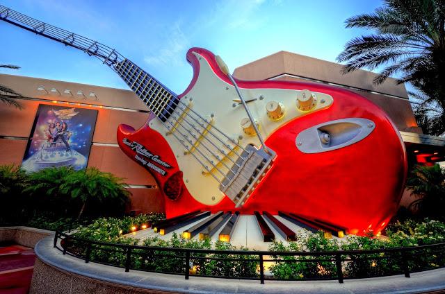 Parque Hollywood Studios da Disney Orlando: montanha-russa do Aerosmith