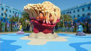 Hotéis da Disney em Orlando: piscina