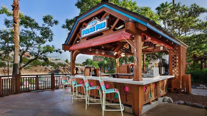 Parque Blizzard Beach da Disney Orlando: Polar Pub