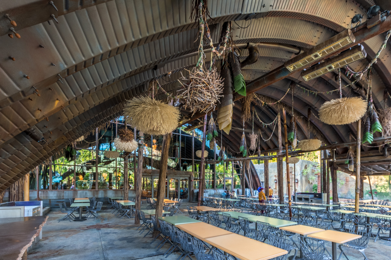 Parque Animal Kingdom da Disney Orlando: Satu'li Canteen