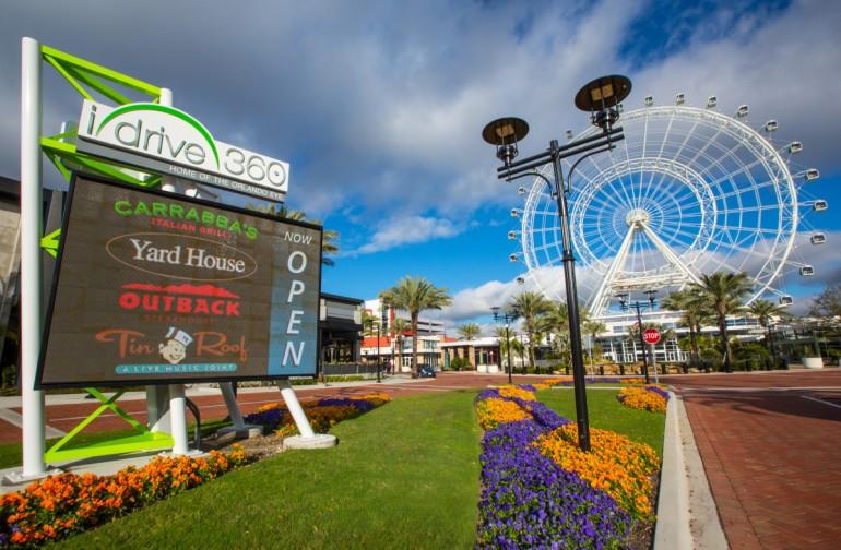 Roda-Gigante Orlando Eye em Orlando: complexo I-Drive 360