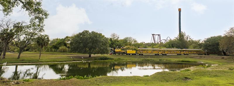 Parque Busch Gardens em Tampa: Serengeti Express