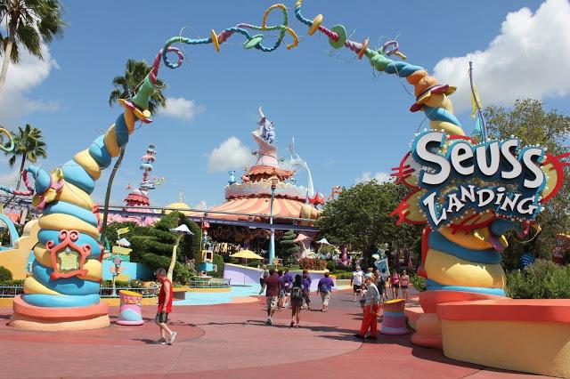 Parque Islands of Adventure Orlando: Seuss Landing