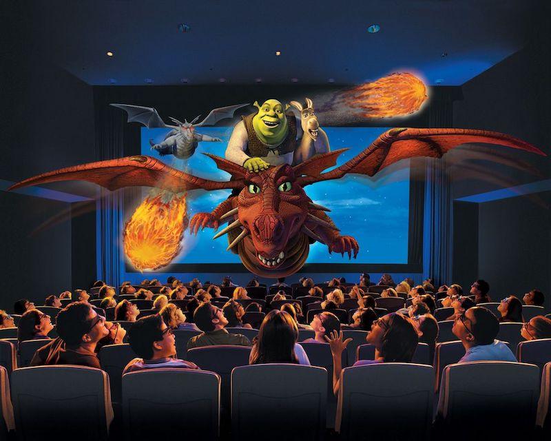 Shrek 4D no parque Universal Studios em Orlando