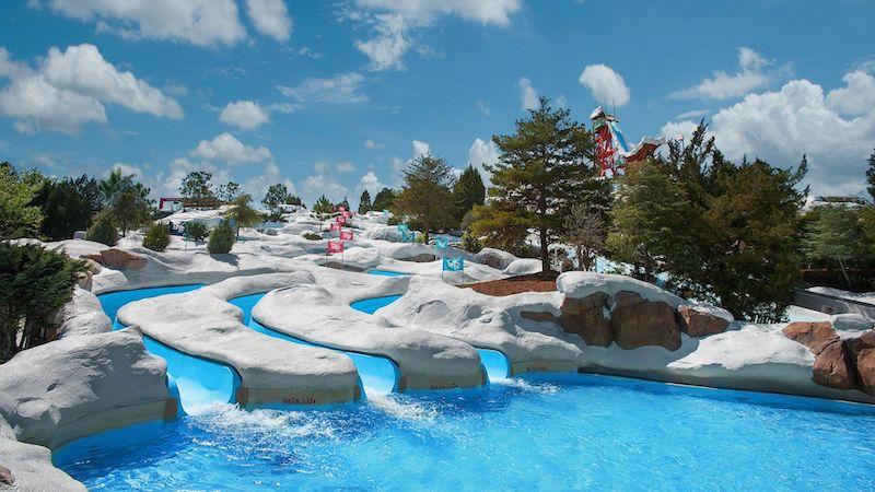 Snow Stormers no parque Blizzard Beach em Orlando