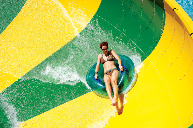 Parque Aquatica em Orlando: Tassie's Twisters