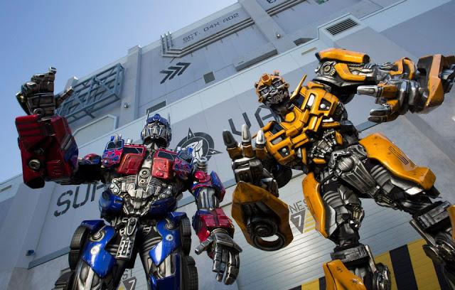 Transformers The Ride 3D no parque Universal Studios em Orlando
