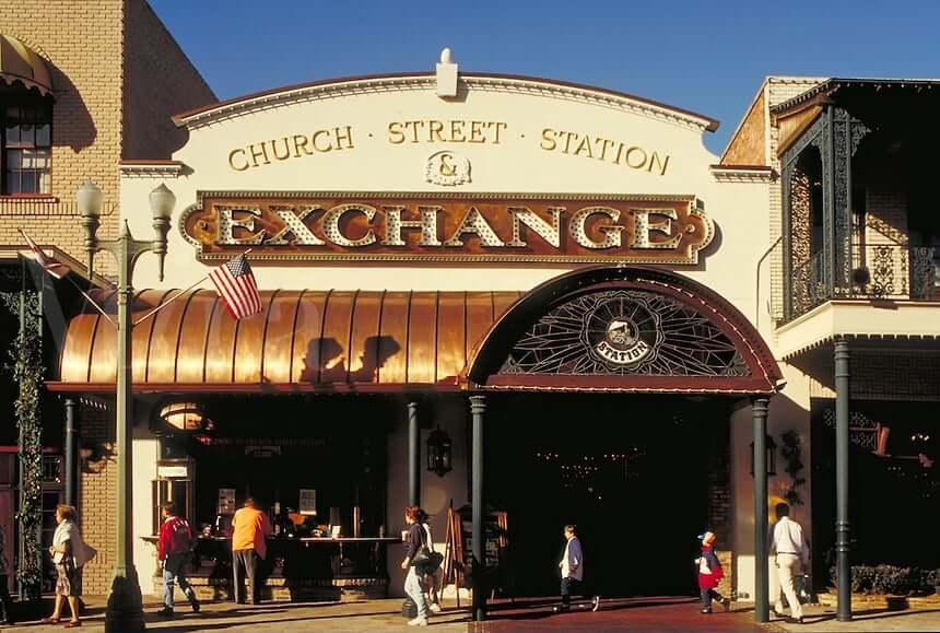 Church Street Station em Orlando: shopping Exchange