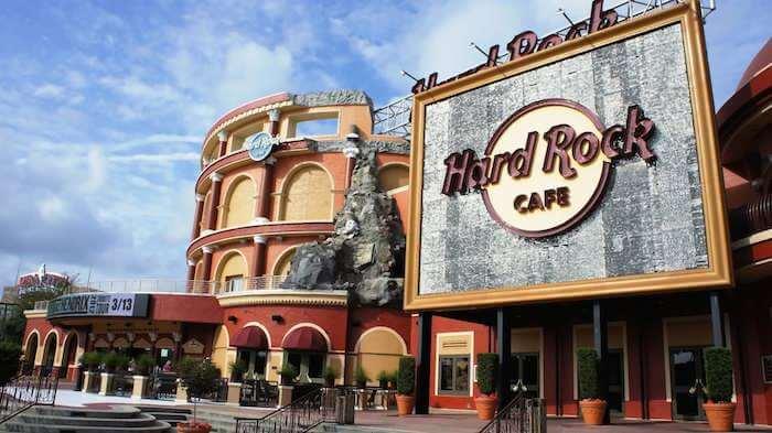 CityWalk Universal em Orlando: Hard Rock Cafe