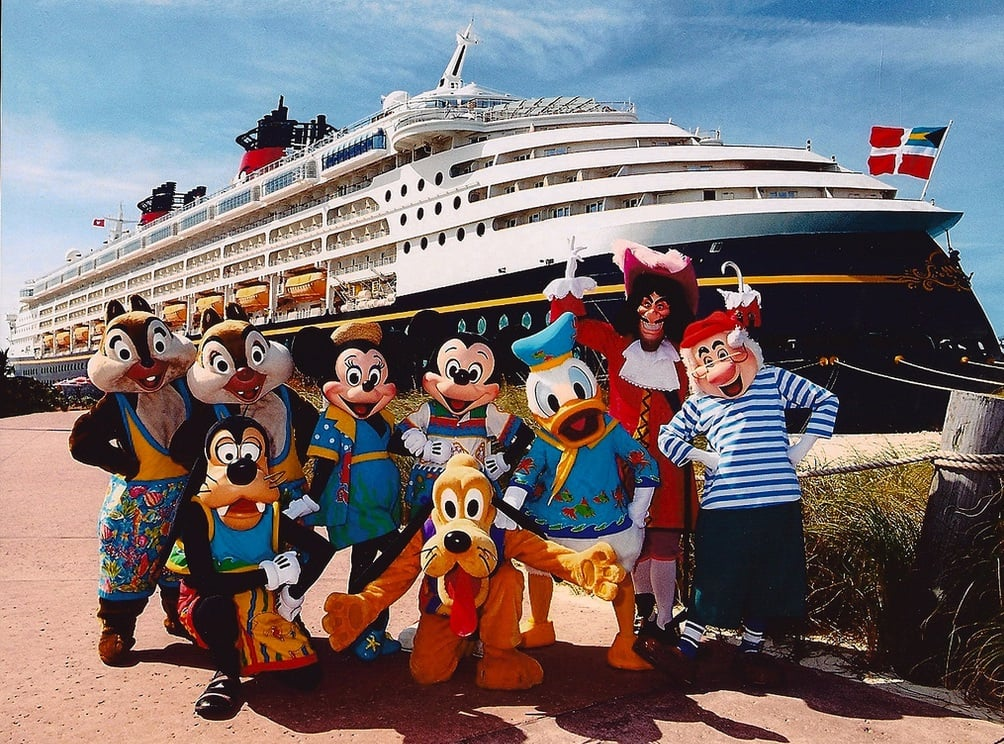 Cruzeiro Disney Fantasy: navio