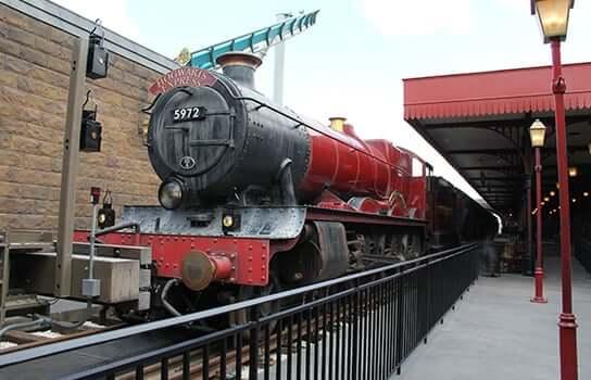Trem Hogwarts Express na Universal Orlando 2