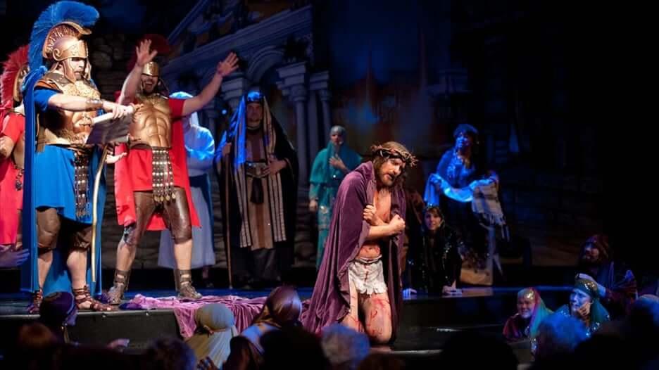 Parque Holy Land Experience em Orlando: encenação