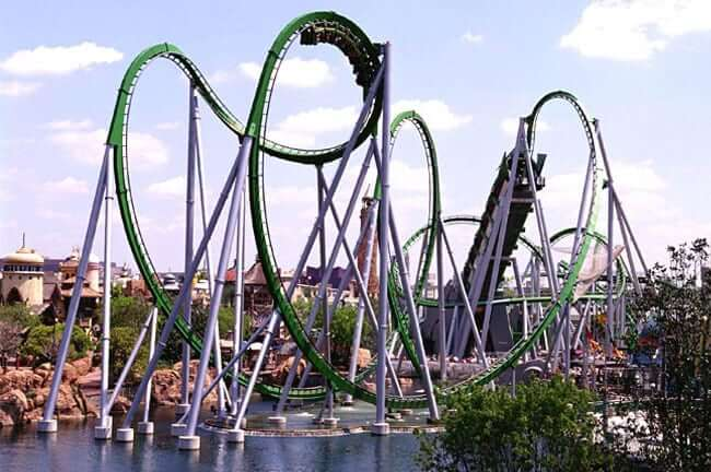 Parques para adultos em Orlando: parque Islands of Adventure