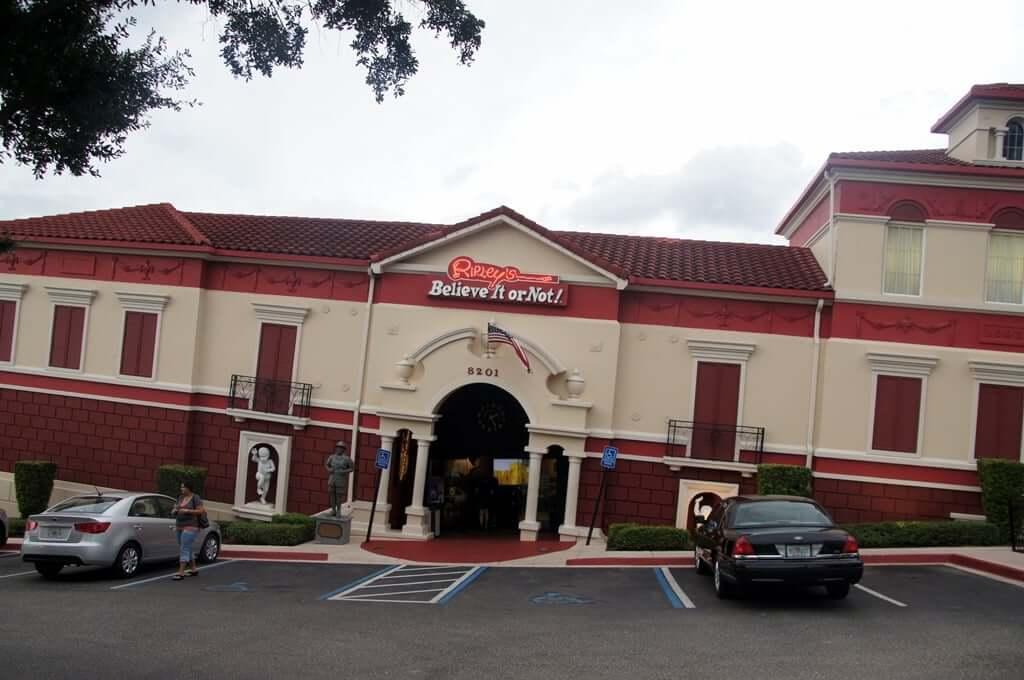 Museus em Orlando: museu Ripley's Believe It or Not
