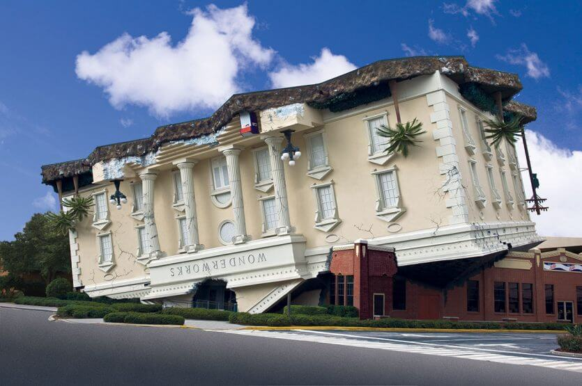 Museus em Orlando: museu WonderWorks Orlando