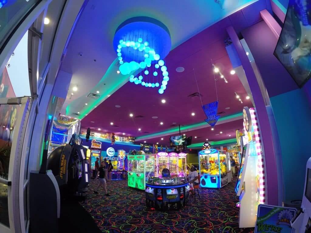 Complexo I-Drive 360 em Orlando: Arcade City